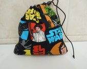 Lined Starwars Dice Bag