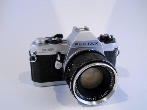 Pentax MG film camera SLR with bonus Zoom Lens