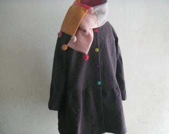 Cardigan dress (purple)