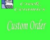 Special Order for Washlz Striped Cookie Jar