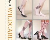 Wild card Socks - Jellyfish /Rose /Cat /Sakura bloom