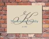 Printable Family Artwork - DIY