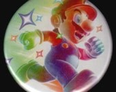 Running Mario Button