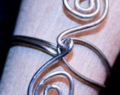 Simple Swirl Wire Wrap Ring