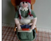 Willow the WIP Gnome Knitting pattern  -  Pattern only IMMEDIATE DOWNLOAD