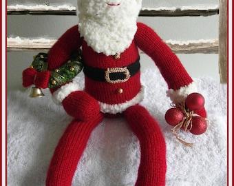 Sandy's Santa :  Pattern only IMMEDIATE DOWNLOAD