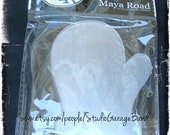 Maya Road Clear Acrylic Mitten Coaster Album