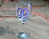 RESERVED - Personalized Wine Glass