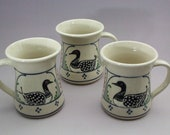 2 loon mugs for Jeanne