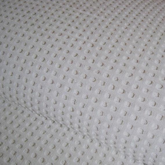 "Morgan Jones Popcorn Chenille With Metalic Thread Full Size Bedspread 92"" x 108"""