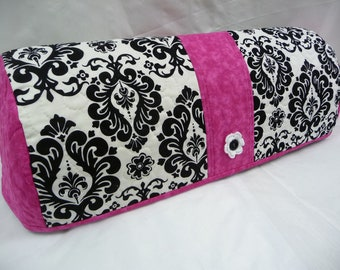 DELIGHTFUL DAMASK with Hot Pink - Cricut Dust Cover - Cricut Cozy - Expression Dust Cover - Expression Cozy