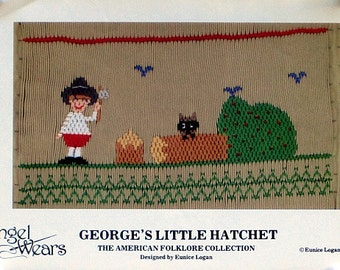 George's Little Hatchet - Smocking Plate from Angel Wear