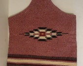 Vintage Hand Woven Chimayo Purse by John R. Trujillo 1970s N,M. 100 percent Wool