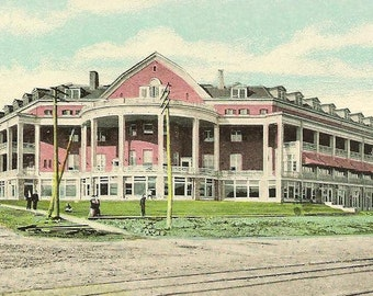 New Clifton Hotel Niagara Falls Ontario early 1900s unused vintage postcard