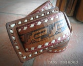 Vintage Leather MEXICO Belt