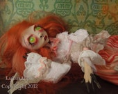 Gothic Art Doll Lolita Doll OOAK Ameirah RESERVED