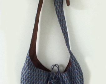 Blue and Brown bag