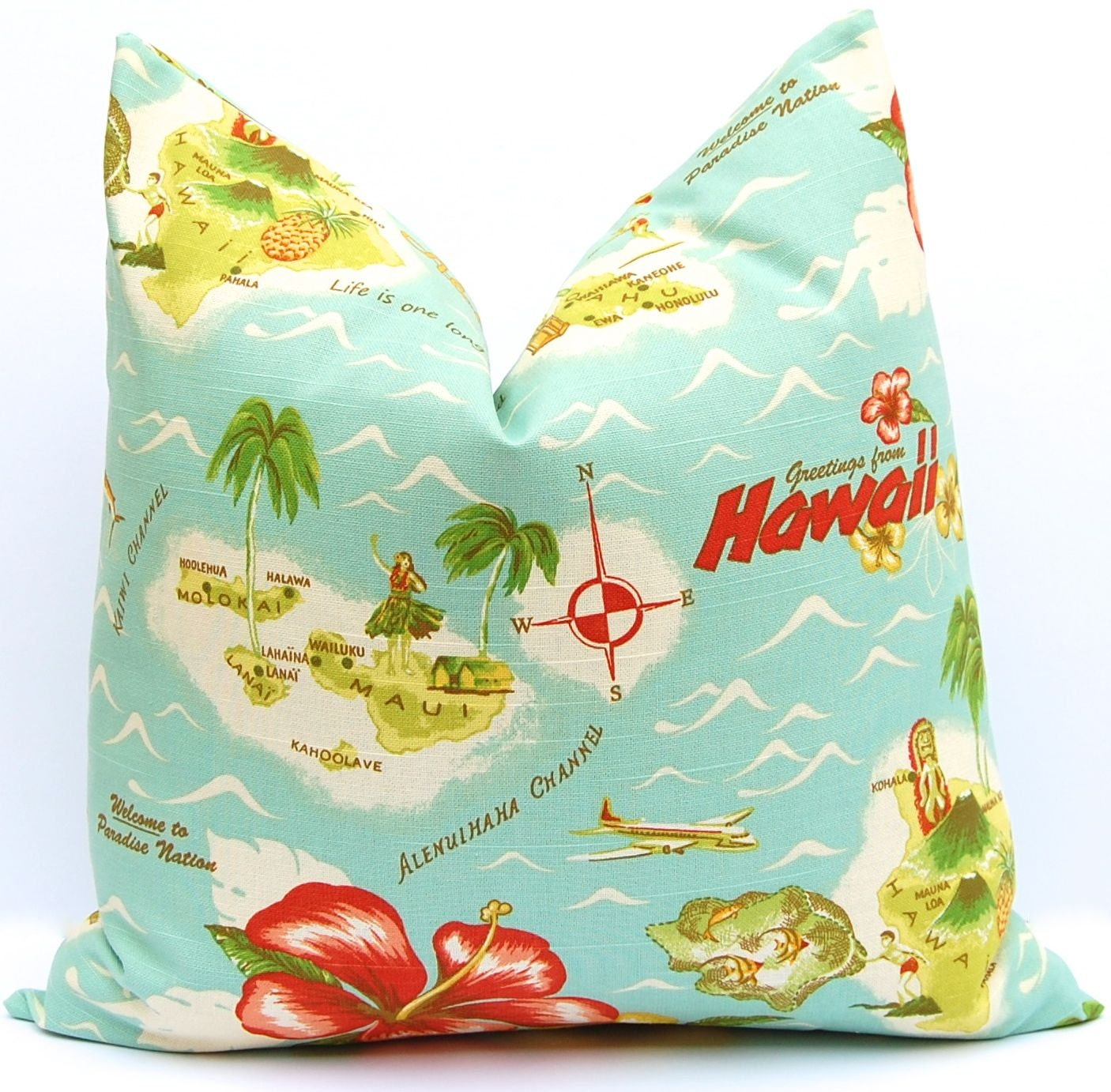 Decorative Throw Pillow Cover One Tommy Bahama Pillow Cushion