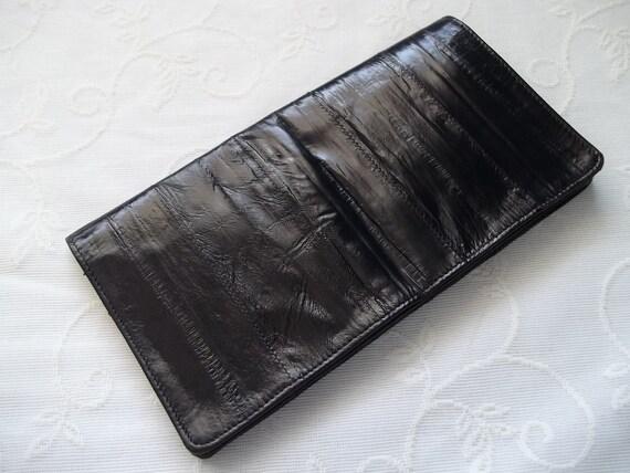 Vintage Eel Skin Wallet
