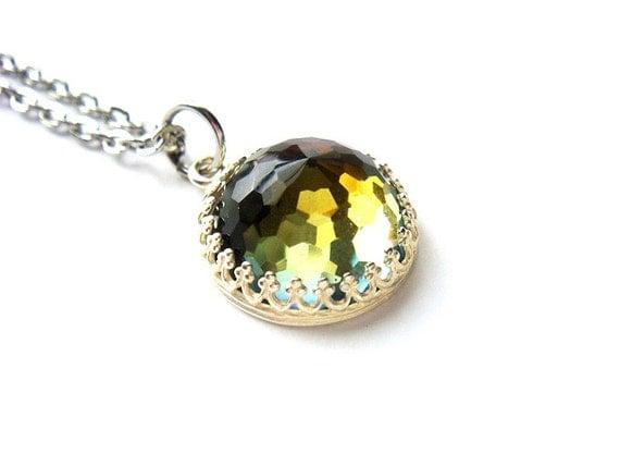 Rare  Vintage Swarovski Crystal Necklace