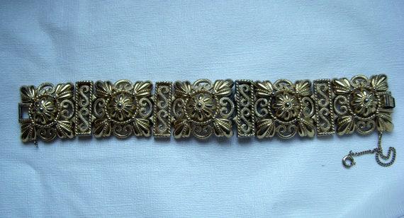 Crown Trifari Scrap Bracelet - Repair Lot