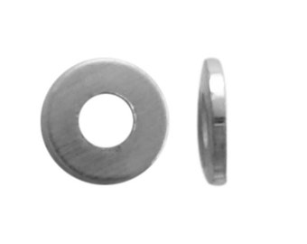100 Sterling Silver 2.5mm Flat Spacer Beads