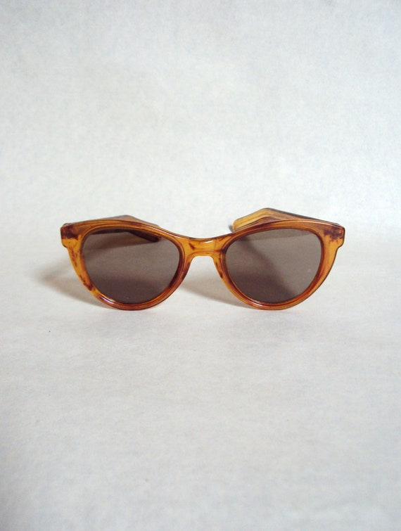 RESERVED - 1940s 50s Tortoiseshell effect sunglasses by Twinco