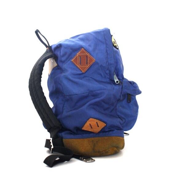 Vintage ROYAL Blue Day Trip Backpack