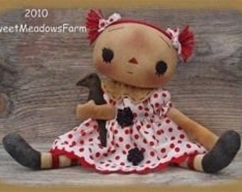 Dot Primitive Doll Pattern by Sweet Meadows Farm #205