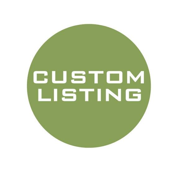 Custom Listing for Pariya