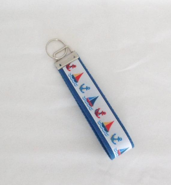 Keychain, Wristlet, Key Fob, Sturdy, Nautical