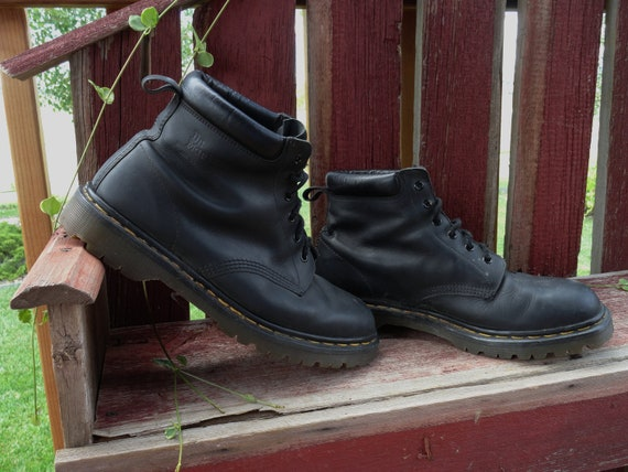 Vintage Doc Marten Boots Dr. Martin -  Mens US Size 11.5 -  Womens Size 13 - Priority Shipping