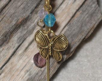 Book Hook - Golden Butterfly