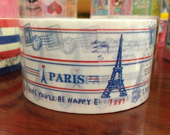 Deco Tape adhesive Stickers - French Eiffel Tower DTB144