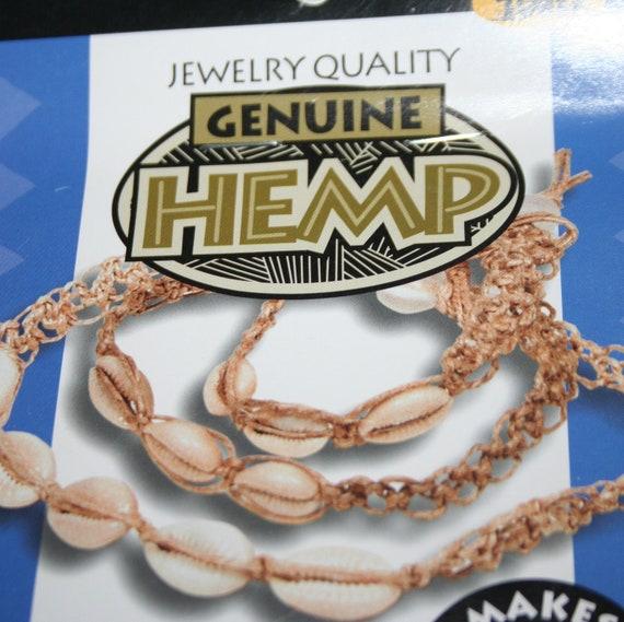 DIY Hemp Kit Sea Shell necklace, anklet and bracelet set Cowry Shells