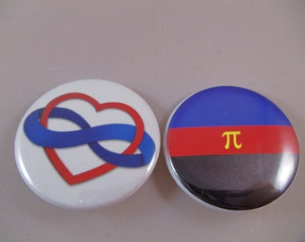 Polyamory buttons