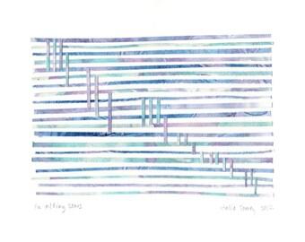 Fa-alling Stars - Original Paper Mosaic