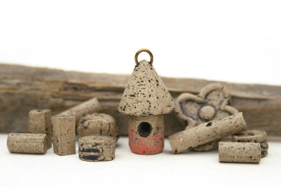 Birdhouse mudbeads