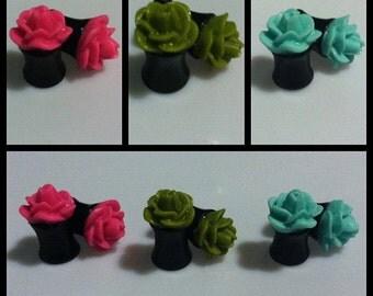 Rose Plugs (2g, 0g)