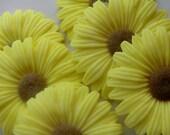 100 Sunflower Soap - baby shower favor, wedding favor, bridal shower favor