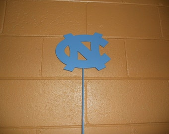 North Carolina Tar Heels metal stake