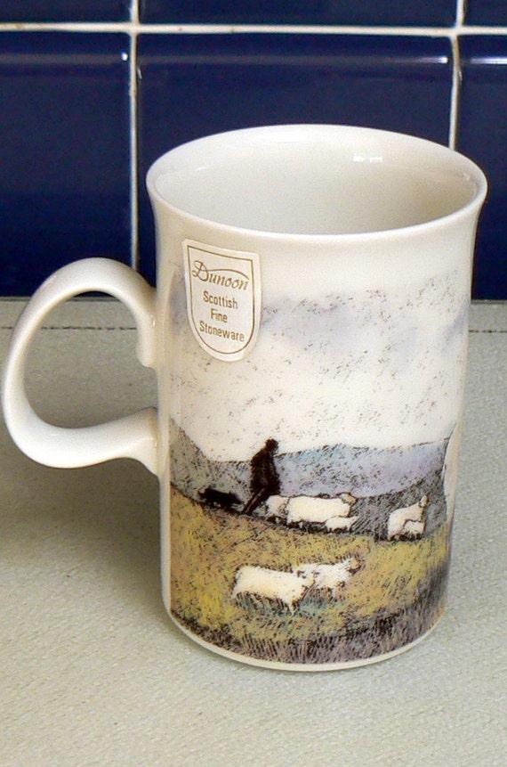 Dunoon Fine Stoneware Mug Scotland