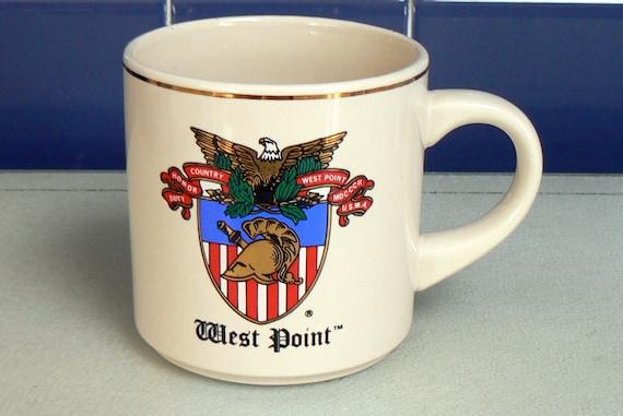 Vintage Stoneware West Point Mug