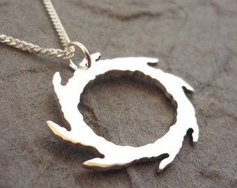Circle of the Black Thorn Pendant