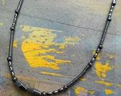 NEW---Unisex Hematite Necklace