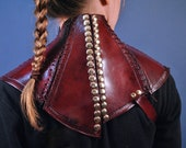 Posture Collar in Mord Sith Red