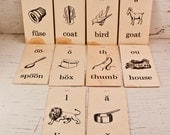Vintage Flash Cards School Supplies Instant Collection