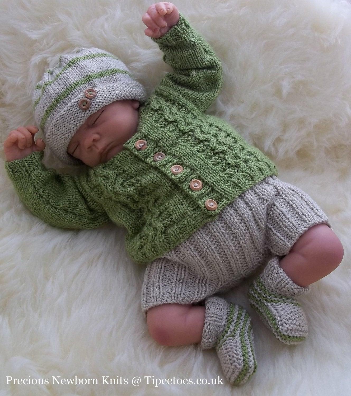 Baby Boys Knitting Pattern Download PDF Knitting Pattern
