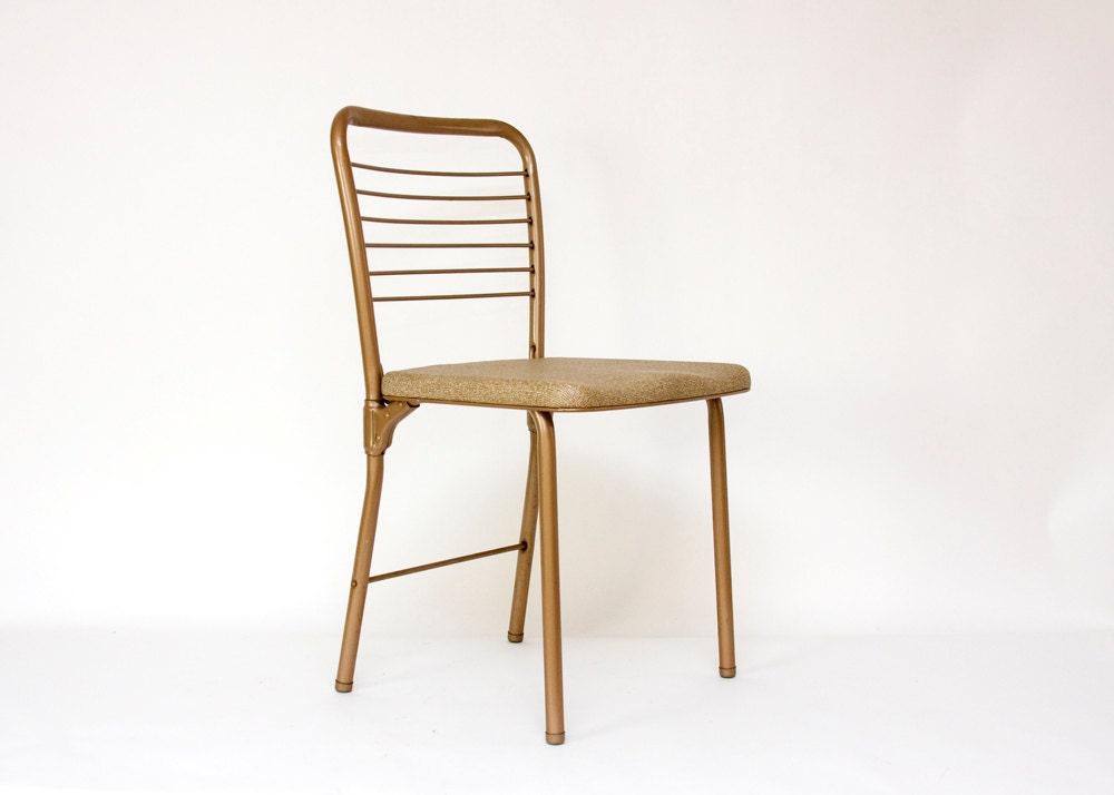 Folding Chair Gate Leg Hamilton Cosco Mid Century by TomLaurus