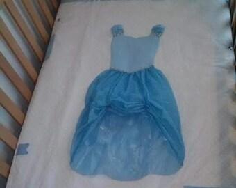 Cinderella Crib/Toddler Bed Quilt